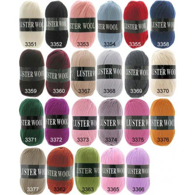Пряжа Luster Wool