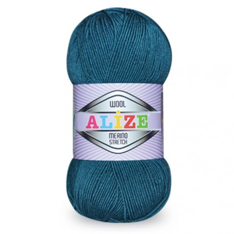 Пряжа Alize MERINO STRETCH