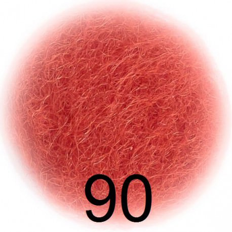 Шерсть для валяния Бергшаф (Австрия) цвет 90